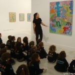 Nuestros alumnos de Infantil descubren uno de los referentes de la pintura de la Generación de los Setenta en las Islas Canarias