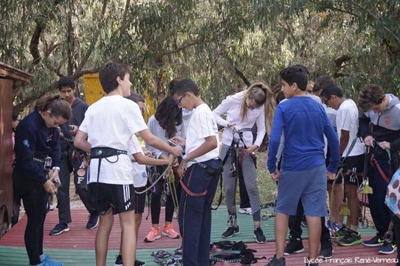 Intercambio escolar deportivo cultural entre los Liceos franceses de Agadir y de Gran Canaria