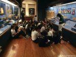 Los alumnos del Liceo de Gran Canaria participan en el proyecto 'Guías por un día en el Museo Canario'