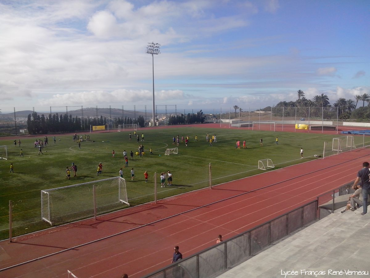 Jornada de convivencia de la Escuela de fútbol de la UD Las Palmas