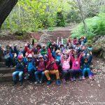 Segundo día de descubrimientos en la naturaleza para los alumnos de 1º de Primaria
