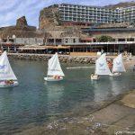 Deuxième jour à l'école de voile pour les élèves du Lycée Français de Gran Canaria