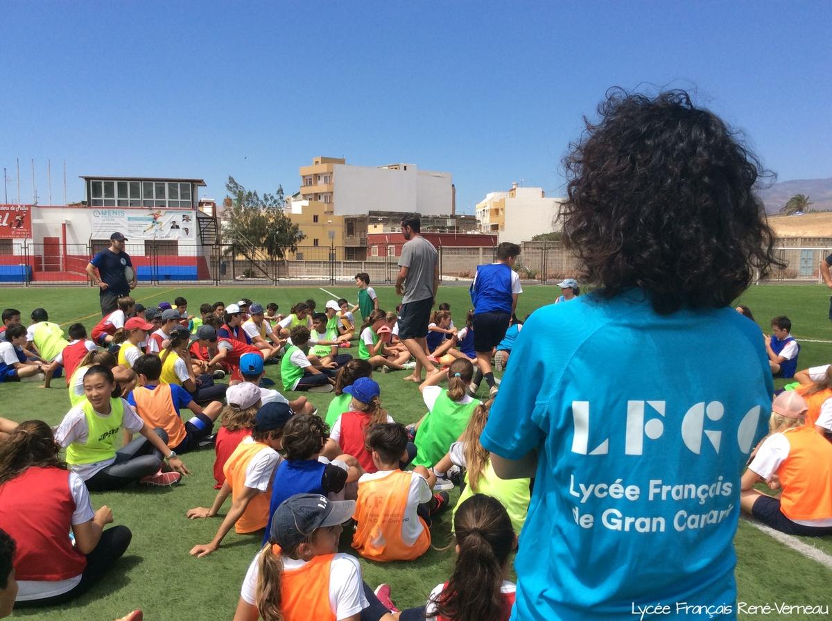 Novena edición del Encuentro Deportivo entre los Liceos franceses de Tenerife y Gran Canaria