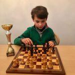 Uno de nuestros alumnos se alza como Subcampeón en Ajedrez en los Juegos de Gran Canaria de Edades