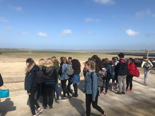 Intensa última jornada en Francia para nuestros alumnos de 1º de BachiBac