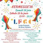 Kermesse 2018 del Liceo Francés de Gran Canaria