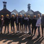 Nous allons à la mine ·Troisième jour du voyage des élèves de 1ère BachiBac