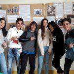 Réunion bilan échange mobilité au Collège Modigliani en présence de M. Chatton