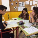 Tradicionales pruebas orales entre alumnos del LFIGC