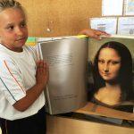 'La Joconde', de visita en el Liceo Francés Internacional de Gran Canaria