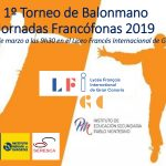 1º Torneo de Balonmano Jornadas Franfófonas 2019