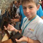 Retour sur le passé agricole de l'île avec les élèves du lycée français