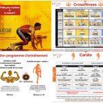 Éducation physique en ligne