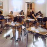 Un peu de stress ?: Examens de fin de trimestre des élèves de BachiBac