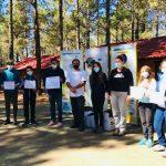 Jóvenes por el agua frente al cambio climático: encuentro en El Garañón