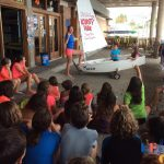 Primer día en la Escuela de Vela para los alumnos de 5º de Primaria